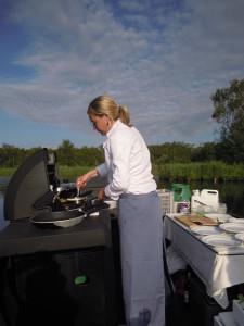 Kok in de Rietboot