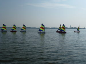 Optimistenrace Be A Team Nieuwkoopse Plassen Team Building Optimist